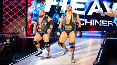Heavy Machinery win on Raw debut