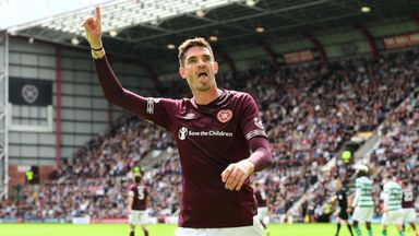 Lafferty talks through Hearts winner