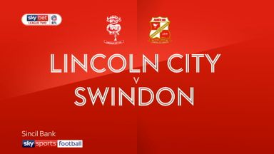 Lincoln 4-1 Swindon