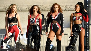 'Little Mix not to blame for pitch'