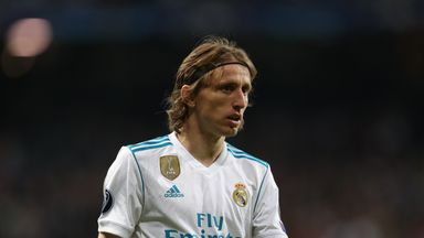 Courtois: Modric is the best