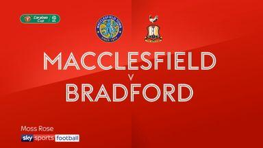 Macclesfield 1-1 Bradford (4-2 pens)