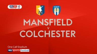 Mansfield 1-1 Colchester