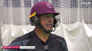 Trescothick on facing swing bowling
