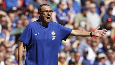 Sarri 'not happy' despite win