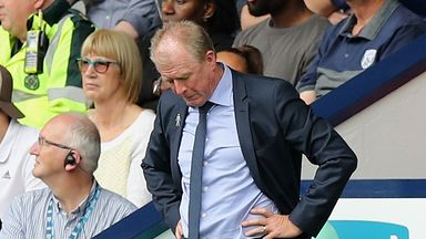 McClaren shocked at West Brom 'collapse'