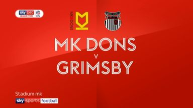 MK Dons 1-1 Grimsby