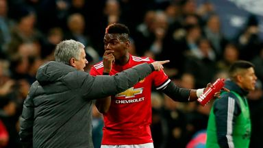 Man Utd: No Jose/Pogba bust-up