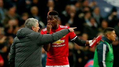 Man Utd: No Jose/Pogba bust-up