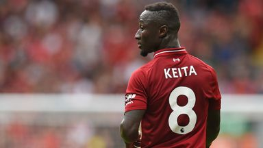 Keita's influence on Liverpool
