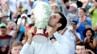 Djokovic makes tennis history