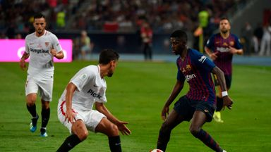 Dembele scores Super Copa stunner