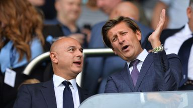 Parish envious of Levy's Spurs project