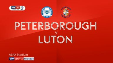 Peterborough 3-1 Luton