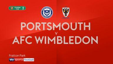 Portsmouth 1-2 AFC Wimbledon