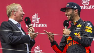 Brundle: Ricciardo move a risk