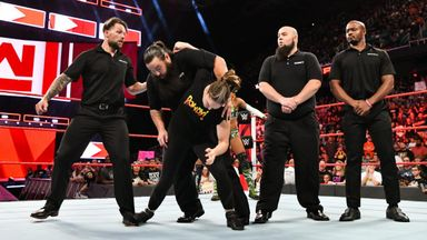 Rousey destroys Bliss' private security
