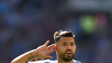 Aguero 'very happy' with City stay