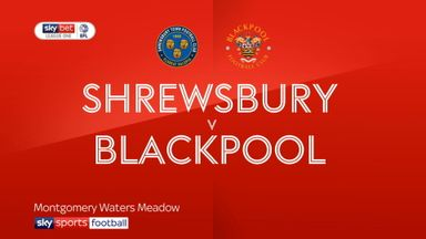 Shrewsbury 0-0 Blackpool