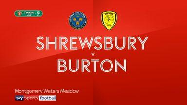 Shrewsbury 1-2 Burton