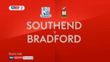 Southend 2-0 Bradford