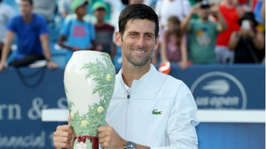 Djokovic completes Masters sweep