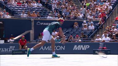 Zverev smashes racket