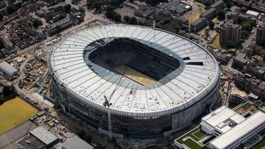 Spurs in talks with UEFA over stadium