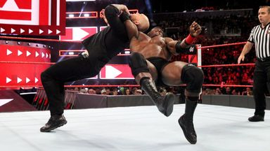 Lashley and The Constable in impromptu clash