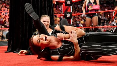 Rousey locks Stephanie McMahon in armbar
