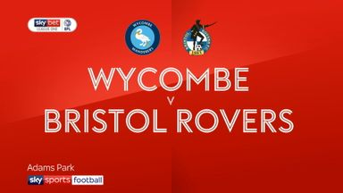 Wycombe 1-2 Bristol Rovers
