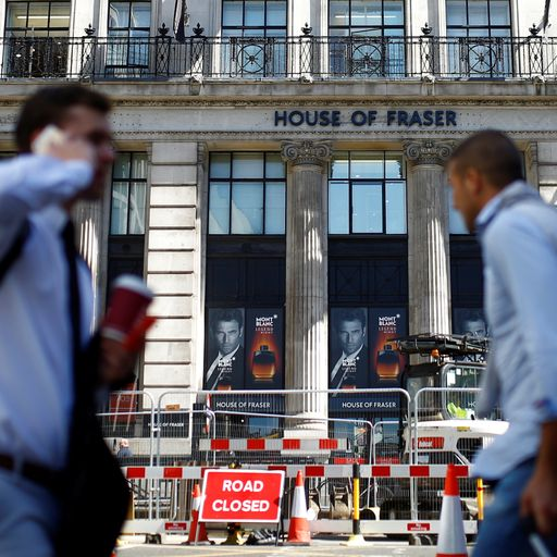 House of Fraser takeover: How did struggling retailer get into this mess?