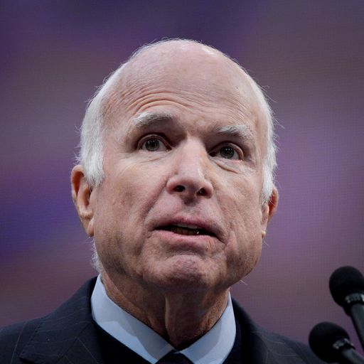 John McCain has died following brain cancer