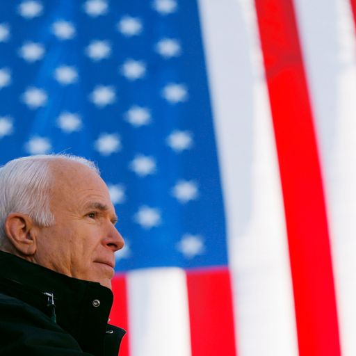 McCain: A single-minded war hero and unquestionable patriot