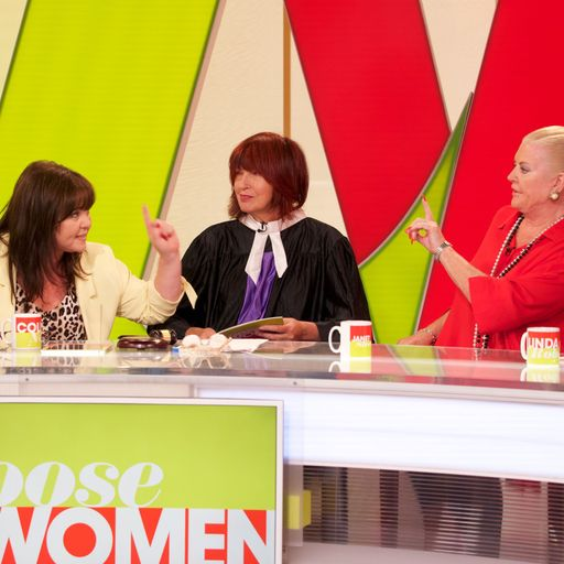 Kim Woodburn's Loose Women row sparks more than 3,000 complaints