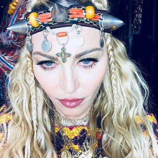 Madonna celebrates 60th birthday with Marrakesh selfie