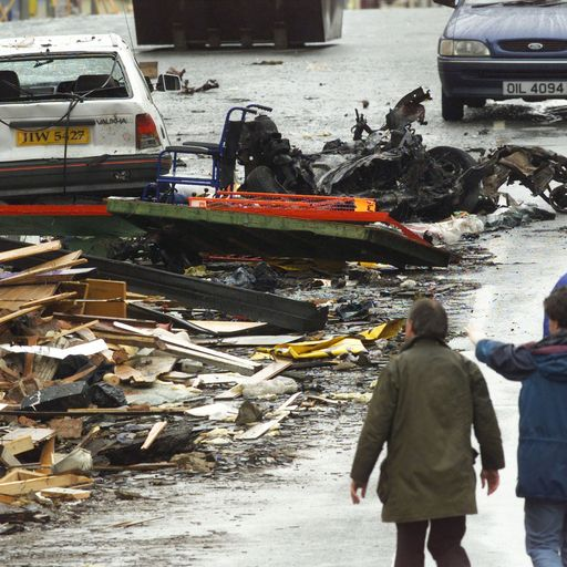 Omagh anniversary: 'In the blink of an eye, 29 people lay dead or dying in a high street'