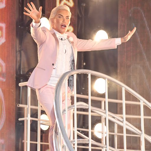 'Human Ken Doll' Rodrigo Alves removed from Celebrity Big Brother over behaviour