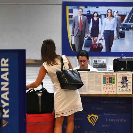 Ryanair changes baggage rules