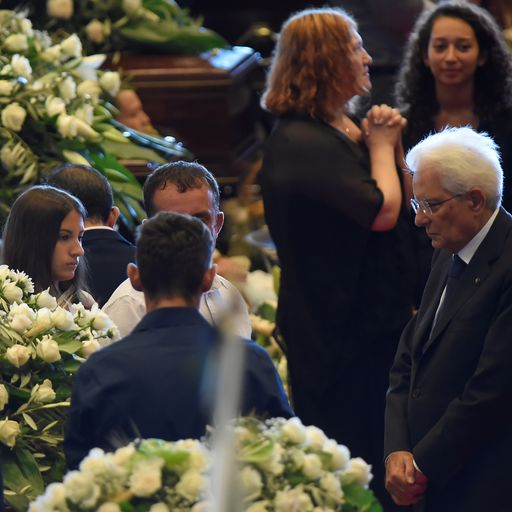 Deeply moving state funeral was 'angry and awkward'
