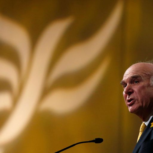 Cable reveals Liberal Democrats could be renamed
