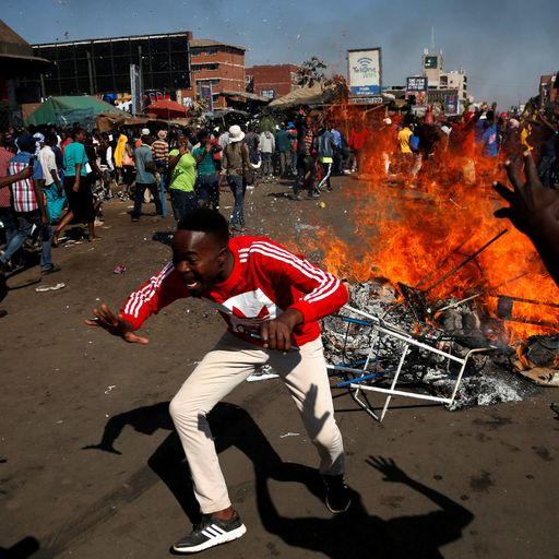 'We are going to have to go to war': Zimbabwe's election fallout
