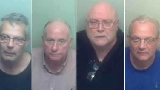 The gang was jailed for 28 years for smuggling cannabis. Pic: NCA