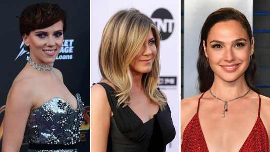 Scarlett Johansson topped the list, which also featured Jennifer Aniston and Gal Gadot
