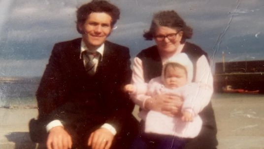 Peter Mulryan had his own child before he found his mother