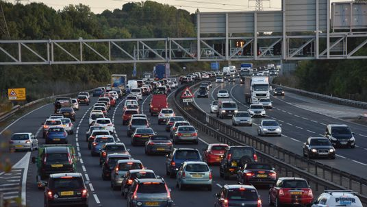 Motorways across the UK are likely to experience long delays