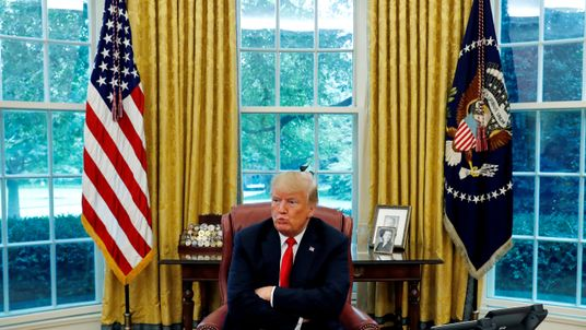 President Trump discussed China, Russia, Iran and the Mueller inquiry