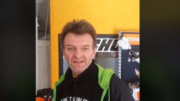 Fabrice Miguet crashed on Saturday