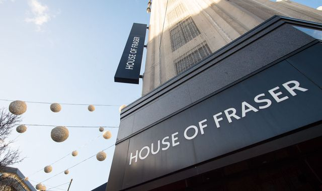 'Green shoots' for House of Fraser but store closures still expected