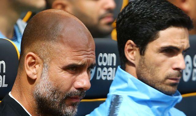 Pep Guardiola 'pretty sure' Mikel Arteta will succeed him at Manchester City
